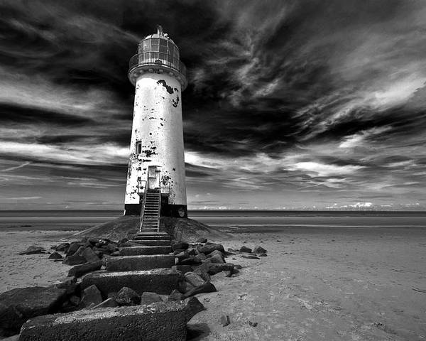 Art Poster featuring the photograph Talacre Lighthouse by Colin Ashworth