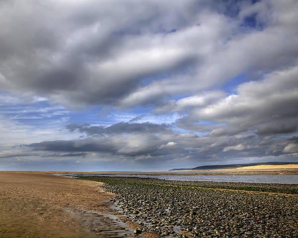Taw Torridge Estuary Poster featuring the photograph Taw Torridge Estuary by Dr Keith Wheeler