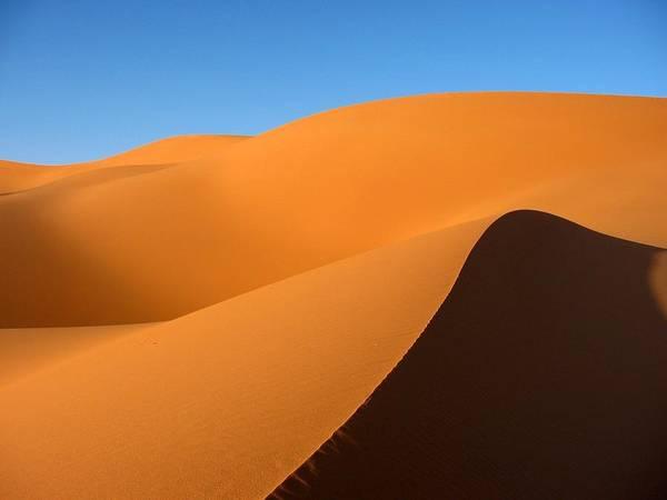Horizontal Poster featuring the photograph Ubari Sand Sea, Libya by Joe & Clair Carnegie / Libyan Soup