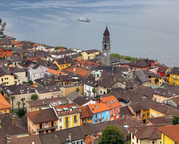 Ascona Poster featuring the photograph Ascona - Ticino by Joana Kruse
