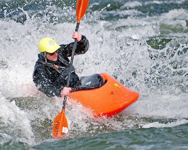 Kyle Keegan Poster featuring the photograph Kayak by Elijah Weber
