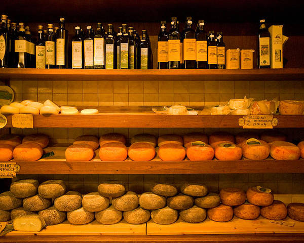 Cheese Poster featuring the photograph 1384 by John Galbo