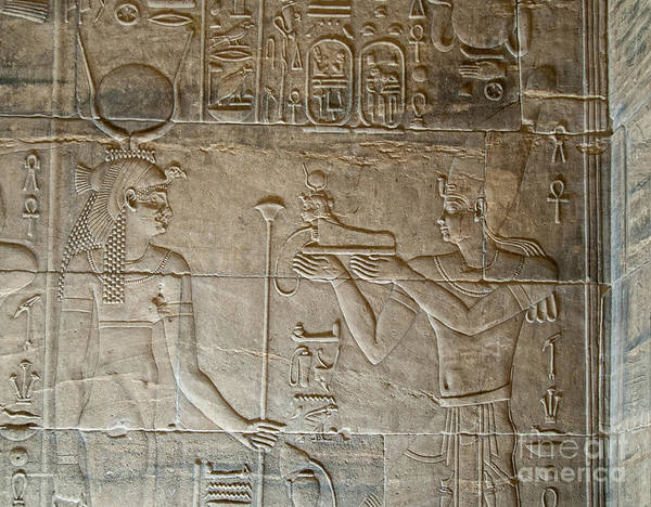 Egypt Nile Philae Nubian Poster featuring the digital art Philae by Carol Ailles