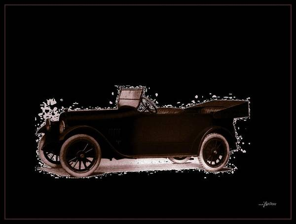 Studebaker Poster featuring the photograph 1919 Studebaker Eh by Maciek Froncisz