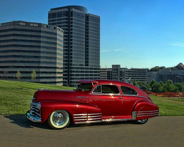 1948 Chevrolet Poster featuring the photograph 1948 Chevrolet Fleetline by Tim McCullough