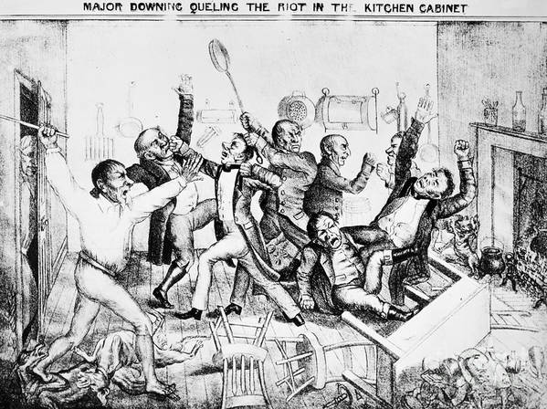 Etonnant 1833 Poster Featuring The Photograph Andrew Jackson Cartoon By Granger