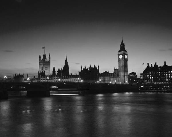 Westminster Poster featuring the photograph Big Ben And The Houses Of Parliament by David French
