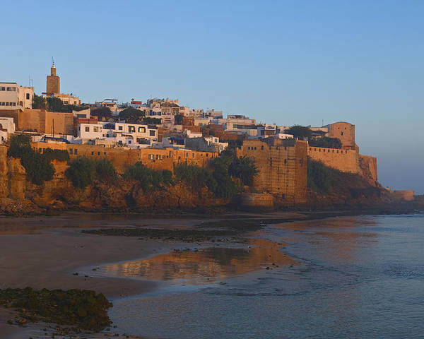 Photography Poster featuring the photograph Kasbah Des Oudaias, Rabat by Axiom Photographic