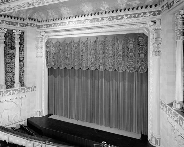 1970s Candids Poster featuring the photograph Movie Theaters, Missouri Theater by Everett
