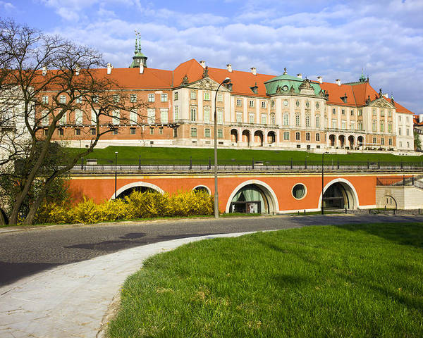 Warsaw Poster featuring the photograph Royal Castle In Warsaw by Artur Bogacki