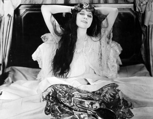 -nec02- Poster featuring the photograph Theda Bara (1885-1955) by Granger