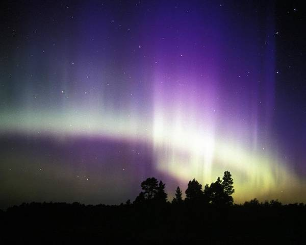 Nature Poster featuring the photograph Aurora Borealis by Pekka Parviainen