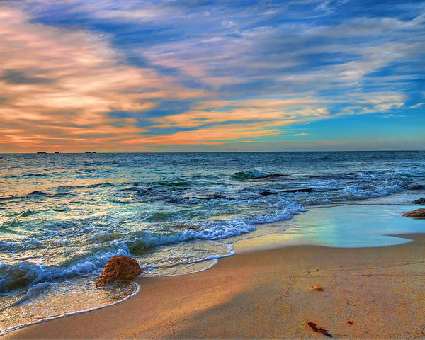 Australia Poster featuring the photograph Burns Beach Wa by Imagevixen Photography