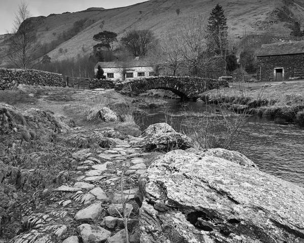 Ashness Poster featuring the photograph Fern Bridge by Gary Finnigan