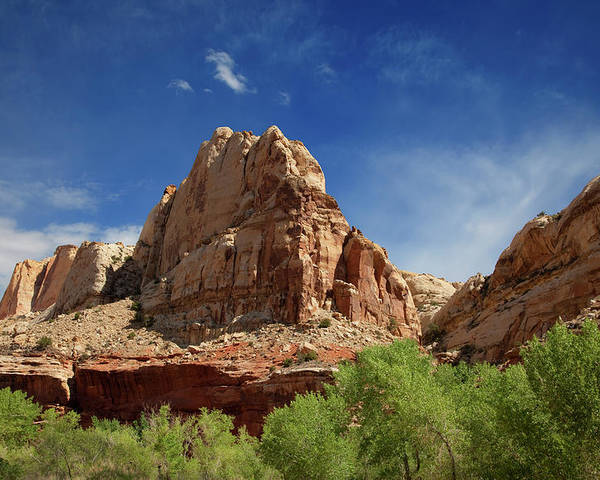 Southern Utah Poster featuring the photograph Capitol Reef National Park by Southern Utah Photography