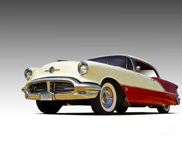 Auto Poster featuring the photograph 55 Olds 88 by John Hix