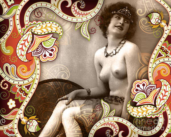 Nostalgic Seduction Poster featuring the photograph Goddess by Chris Andruskiewicz