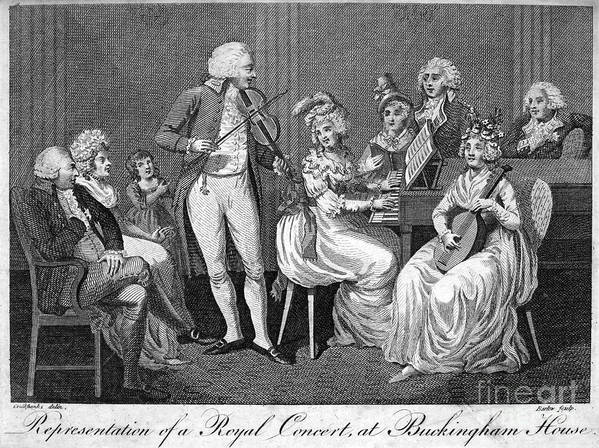 1793 Poster featuring the photograph George IIi (1738-1820) by Granger