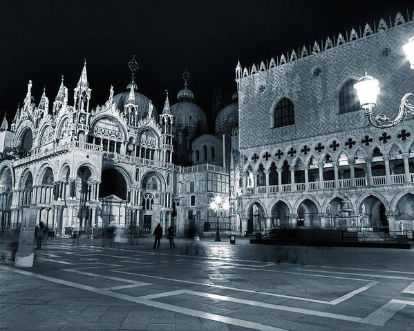 St. Mark Poster featuring the photograph Venice by Joana Kruse