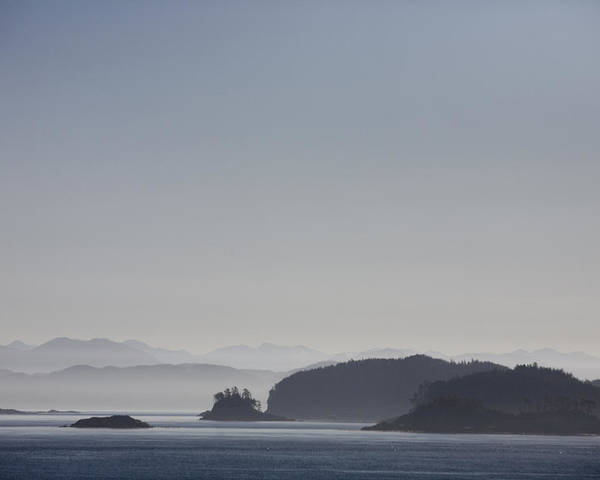 Sunset Poster featuring the photograph A Misty Afternoon On Haida Gwaii by Taylor S. Kennedy
