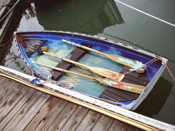 Boat Poster featuring the photograph A Neat Boat by Hiroko Sakai