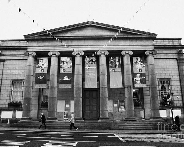 Aberdeen Poster featuring the photograph Aberdeen Music Hall Formerly The Citys Assembly Rooms Union Street Scotland Uk by Joe Fox