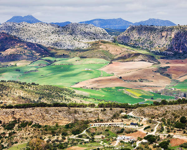 Andalucia Poster featuring the photograph Andalucia Countryside by Artur Bogacki