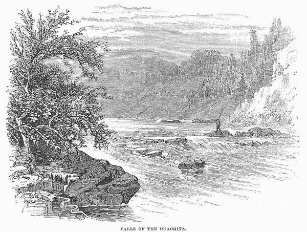 1878 Poster featuring the photograph Arkansas: Ouachita River by Granger