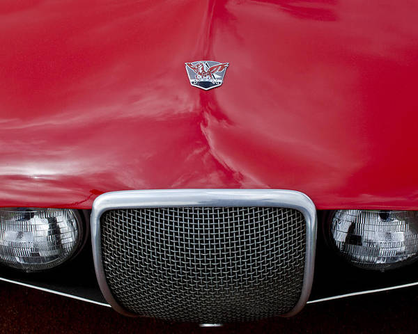 Arnolt Poster featuring the photograph Arnolt Grille by Jill Reger