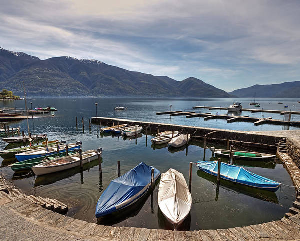 Beautiful Poster featuring the photograph Ascona - Ticino by Joana Kruse