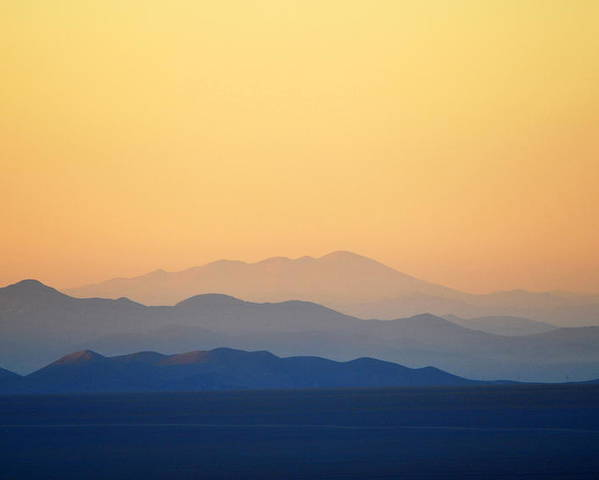 Horizontal Poster featuring the photograph Atacama Hills by Jmalfarock
