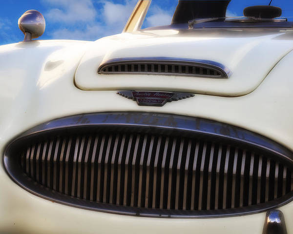 Austin Healey Poster featuring the photograph Austin Healey by Bill Cannon