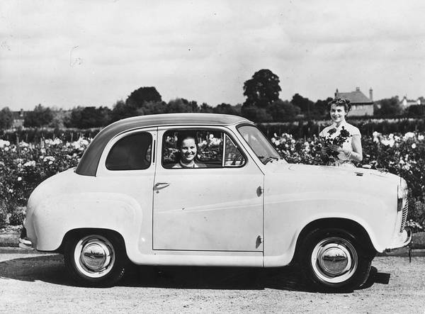 Adult Poster featuring the photograph Austin Seven by Topical Press Agency