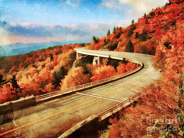 Appalachia Poster featuring the photograph Autumn Views by Darren Fisher