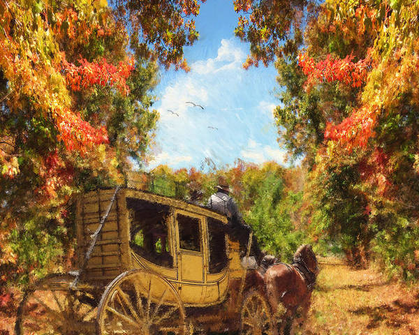 Autumn Poster featuring the photograph Autumn's Essence by Lourry Legarde