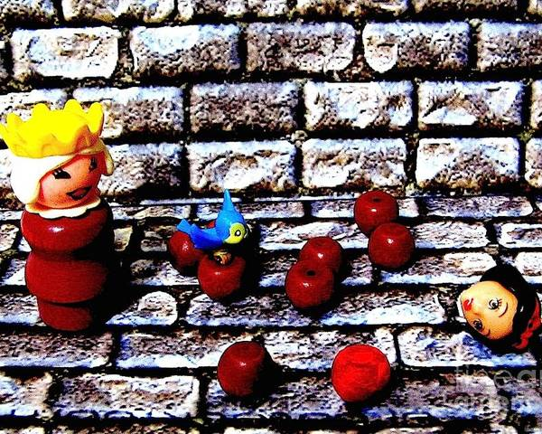 Snow White Poster featuring the photograph Bad Apples by Ricky Sencion