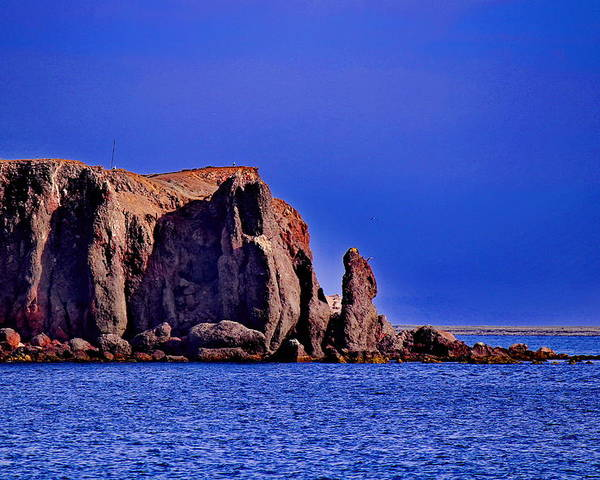Sea Of Cortez Poster featuring the photograph Baja Elephant Rock by Russ Harris