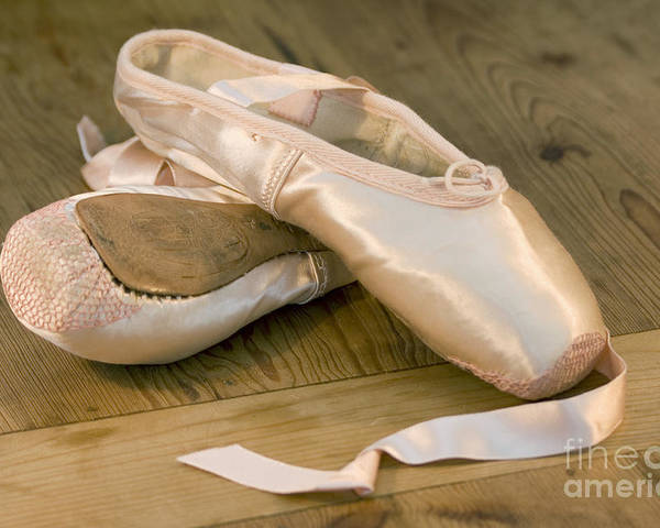 Art Poster featuring the photograph Ballet Shoes by Jane Rix