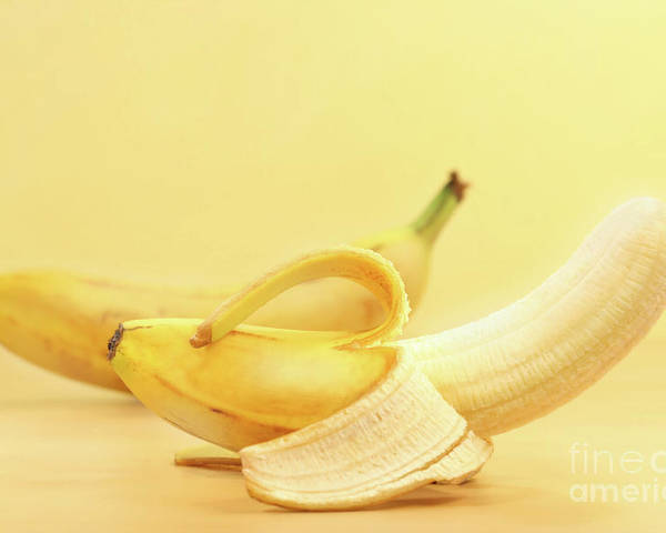 Banana Poster featuring the photograph Bananas by Sandra Cunningham