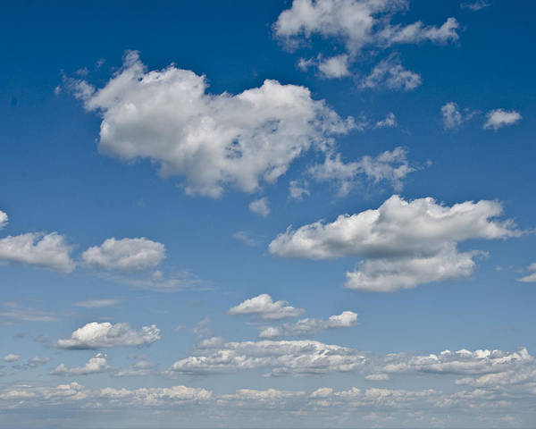 Beautiful Skies Poster featuring the photograph Beautiful Skies by Bill Cannon