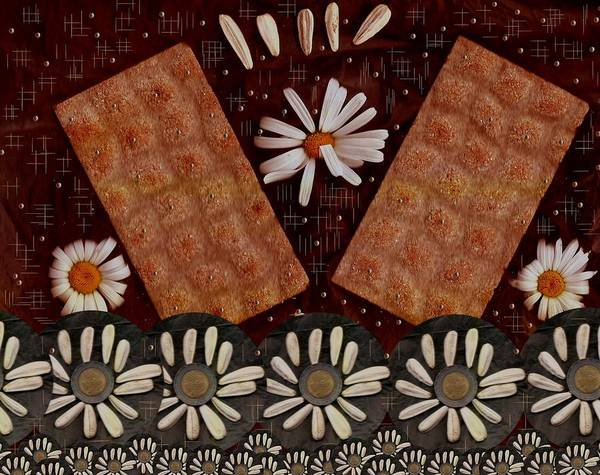 Bread Poster featuring the mixed media Bread And Summer by Pepita Selles