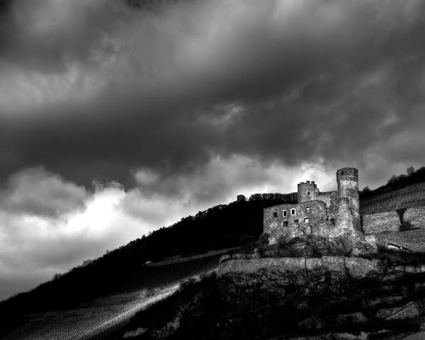Castle Poster featuring the photograph Burg Ehrenfels by Justin Albrecht