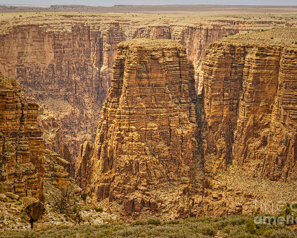 Canyons Poster featuring the photograph Canyons by James BO Insogna