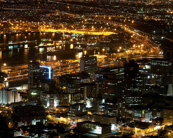 View Poster featuring the photograph Cape Town by Fabrizio Troiani