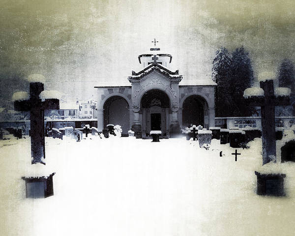 Cemetery Poster featuring the photograph Cemetery by Joana Kruse