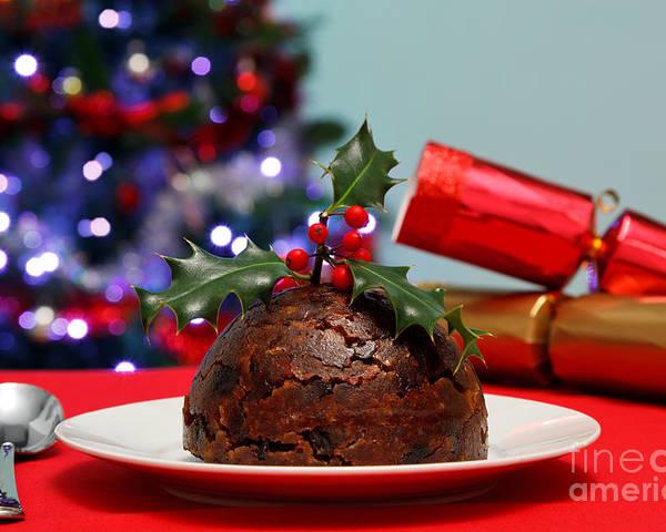 Christmas Pudding Poster featuring the photograph Christmas Pudding by Richard Thomas