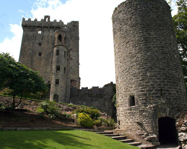 Blarney Castle Poster featuring the photograph City 0023 by Carol Ann Thomas