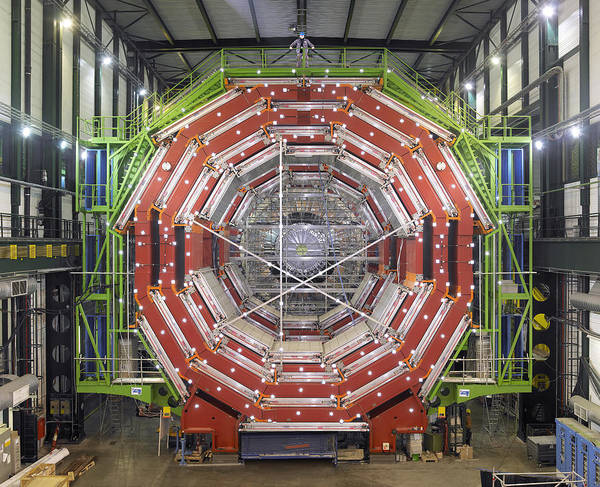 Cms Poster featuring the photograph Cms Detector, Cern by David Parker