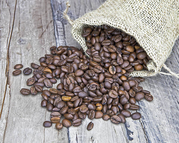 Coffee Poster featuring the photograph Coffee Beans by Joana Kruse