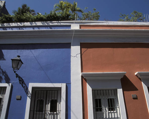 Outdoors Poster featuring the photograph Colorful Architecture In Old San Juan by Scott S. Warren